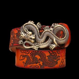 Dragon Design Belt Buckles