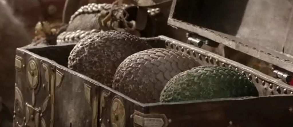 dragon eggs game of thrones