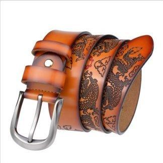 vintage dragon belt buckle