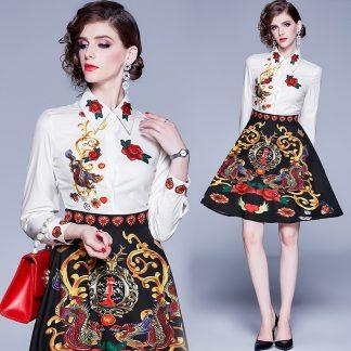 Floral Dragon Dress