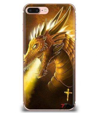 Golden Cross Dragon Samsung Case