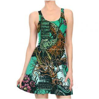 Green Dragon Dress