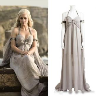 Khaleesi Wedding Dress Costume