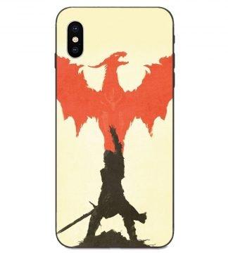Knight Dragon iPhone Case