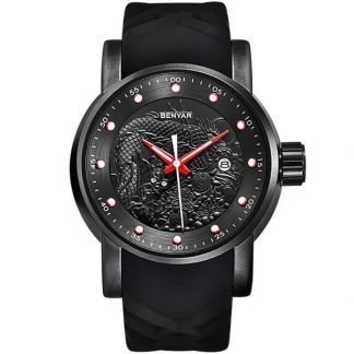 Mens Watch Silicone Band