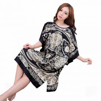 Silk Dragon Dress