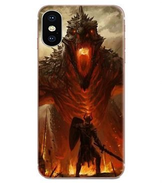 Fire Breathing Dragon iPhone Case