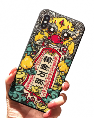 Chinese Lucky Dragon iPhone Case