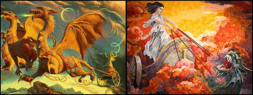 DRAGONS OF MEDEA