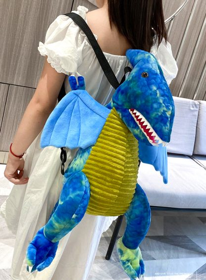 Dragon large Plush backpack