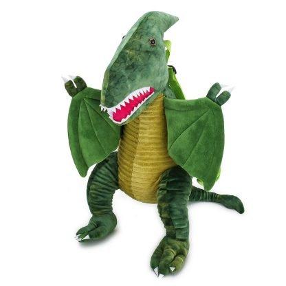 Plush Dragon Backpack