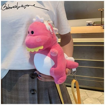 Dragon Plush pink Bags
