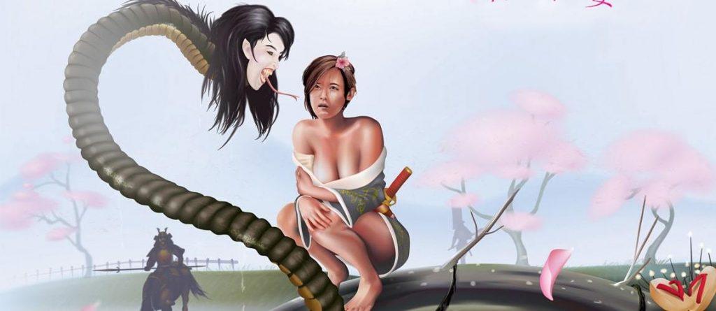 Nure Ona dragon woman head