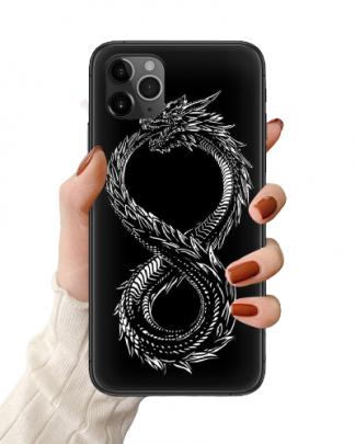 Ouroboros Dragon iPhone Case