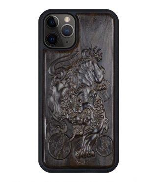 Pi Xiu Dragon Wood iPhone Case
