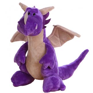 Purple Dragon Plush