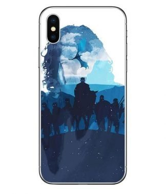 White Walkers Dragon iPhone Case