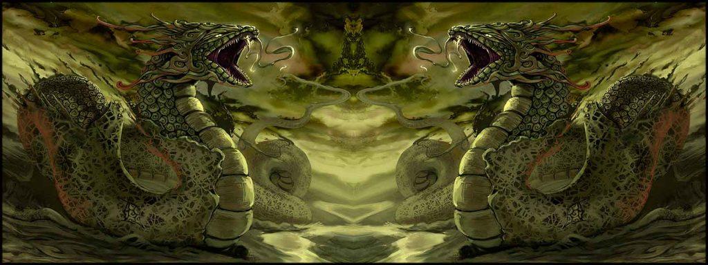 python the dragon