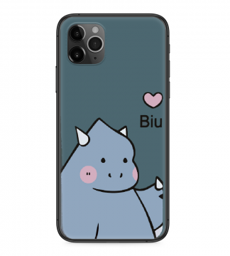 iPhone Xs Silicone Case Dragon Fruit