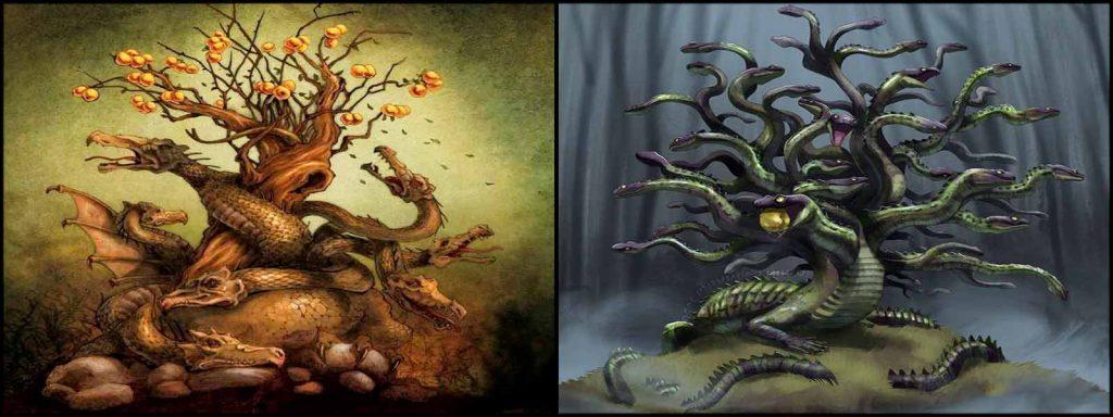 ladon greek mythology