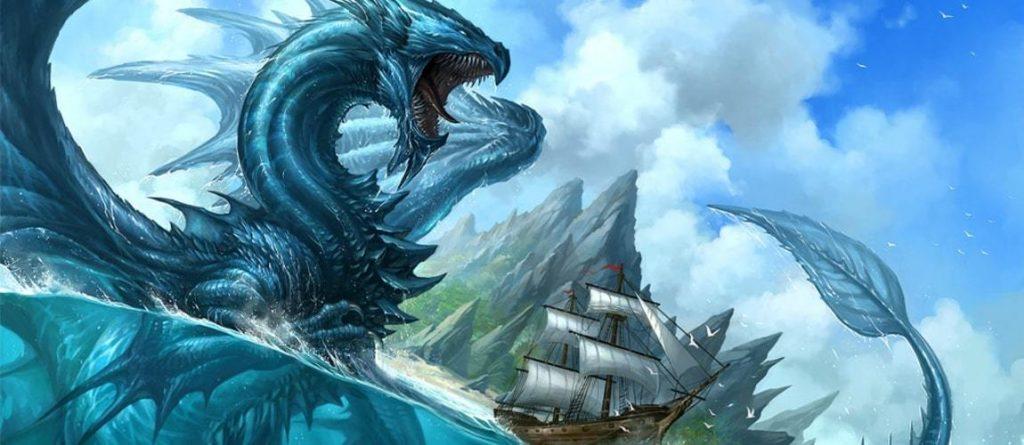 dragon Ryujin god of the sea