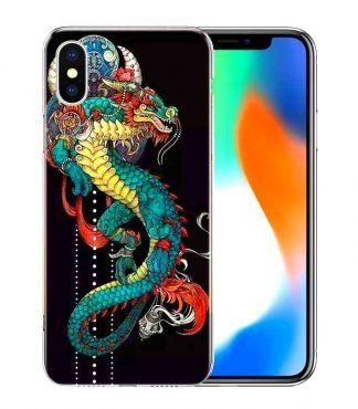 Wildflower Dragon Case iPhone Xr